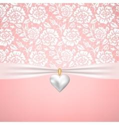 wedding or StValentines day vector image