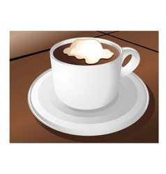 coffee sign design vector image vector image