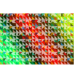 colorful of various dimension background vector image vector image