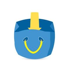 Shopping cart download vector image