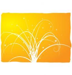 floral spray vector image vector image