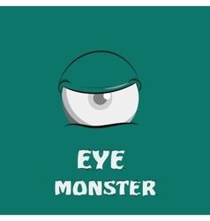 Eye Monster vector image vector image