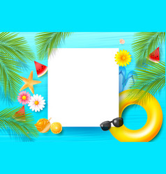 Abstract background with summer element 002 vector