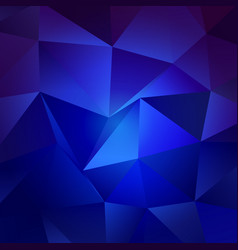 Blue hues trendy low poly backdrop design vector