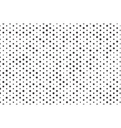 dots background black white seamless pattern vector image