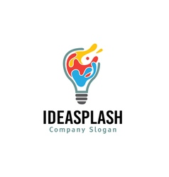 Idea Splash Design vector