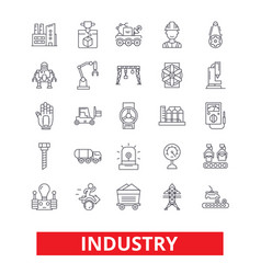 Industry factory manufacturing assembly vector