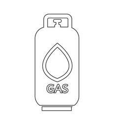 liquid propane gas icon symbol design vector image