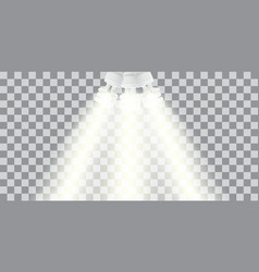 powersave lamp on transparent background vector image