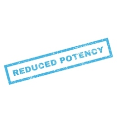 Reduced Potency Rubber Stamp vector