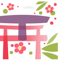 Traditional asian seamless pattern card original vector