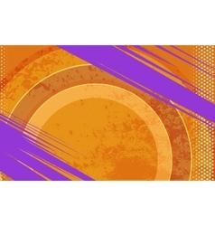 Comic Book and Journal Grunge Orange vector image