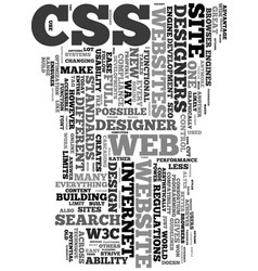 your new website is inside text word cloud concept vector image vector image
