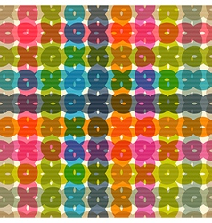 Abstract Retro Colorful Transparent Seamless vector