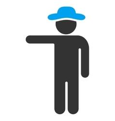 Man Show Icon vector