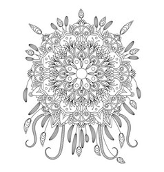 mandala vecror vector image