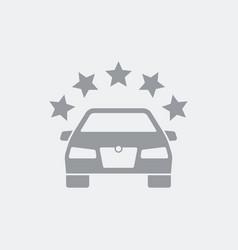 premium automotive symbol icon vector image