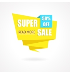 Super Sale Weekend special offer poster banner vector image