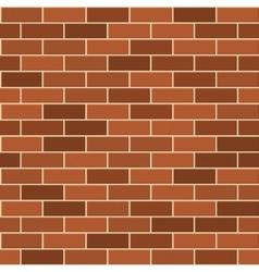 Seamless Pattern of Red Brick wirh Light Seam vector image