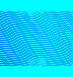 Comic elegant marine style template vector