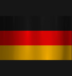 germany flag metallic texture abstract background vector image