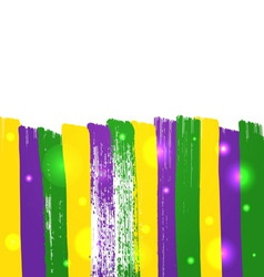 Grunge mardi gras background vector image