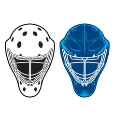 Hockey equipment vector