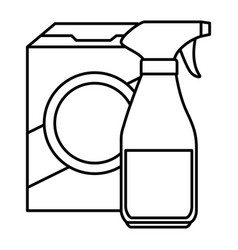 Laundry and housekeeping products vector