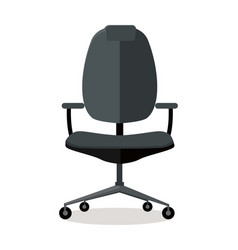 office chair icon symbol isolated on white vector image