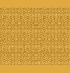 ornament background gold vector image