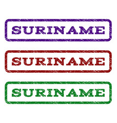 Suriname watermark stamp vector