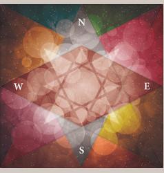 Triangle cover design vector