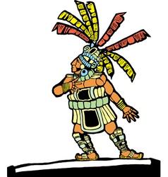 Mayan Ballplayer vector image vector image