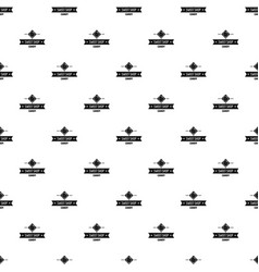 candy shop pattern seamless vector image