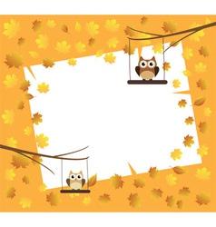 card fall vector image