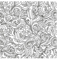 Crazy seamless summer pattern crazy spring vector