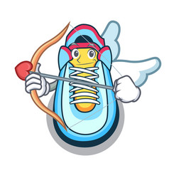 cupid classic sneaker character style vector image