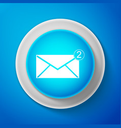 Envelope icon new email incoming message sms vector