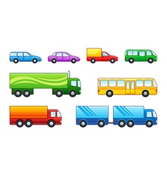 Motor transport vector image