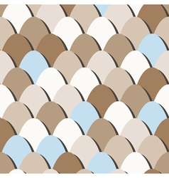 seamless eggs vector image
