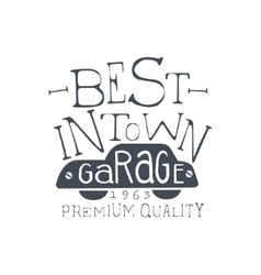 Best Garage Vintage Stamp vector image vector image