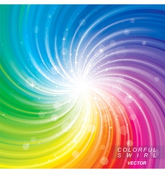 Colorful Glittering Background vector image