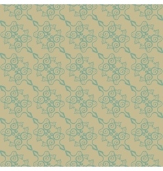 Vintage seamless pattern in the Chinese style vector image vector image