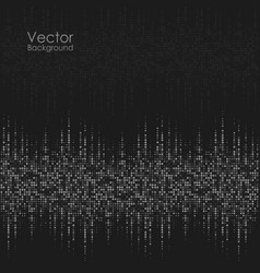 Abstract background with black and gray dots vector
