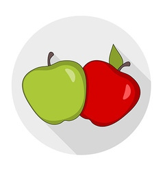 Apples drawings vector