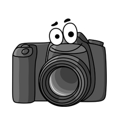 Cartoon digital camera vector