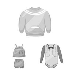 Cloth and apparel logo set vector