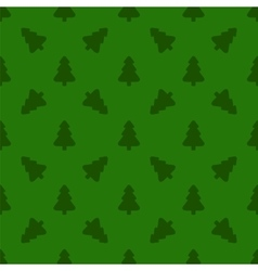 Pattern for wrapping paper christmas tree vector