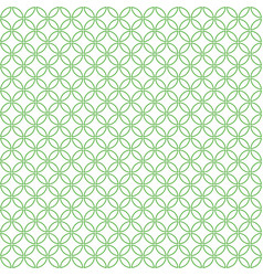 round geometric pattern vector image