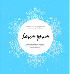 template of card banner poster with white vector image